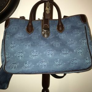 Dooney and Bourke Large signature purse